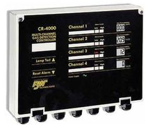 Multi-channel gas detection control unit