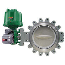 Butterfly valve / control / double-offset / high-performance