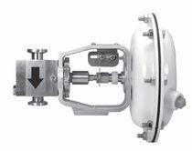Flow control valve / regulating / for gas / sanitary