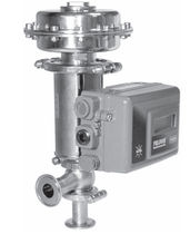 Plug valve / for liquid food products and beverages / control
