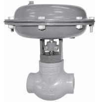 Globe valve / control / for gas