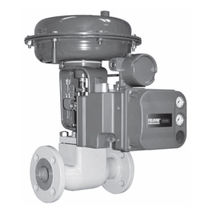 Globe valve / pneumatically-operated / control