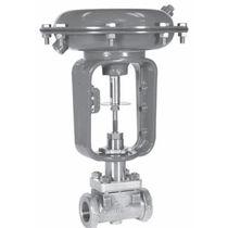 Globe valve / regulating / screw-in / stainless steel