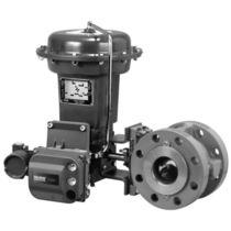 Electric valve actuator / rotary / membrane / spring-return