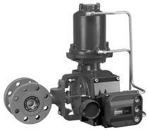 Ball valve / control / for slurry / flange