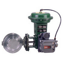 Butterfly valve / control / wafer / double-offset