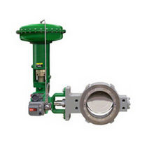 Butterfly valve / double-offset / high-performance