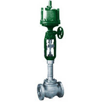 Globe valve / with handwheel / control / for gas
