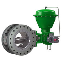 Butterfly valve / double-flange / high-performance