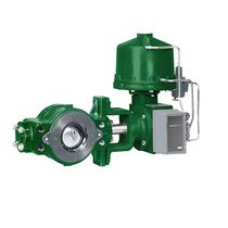 Ball valve / pneumatically-operated / control / distribution