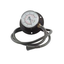Analog pressure gauge / Bourdon tube / process / laboratory