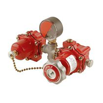 2-valve manifold / metal / changeover / multi-channel
