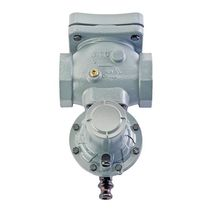 Ball valve / pneumatically-operated / shut-off / for gas
