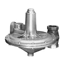 Diaphragm relief valve / for gas / vacuum