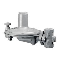 Gas pressure regulator and reducer / diaphragm / low-pressure
