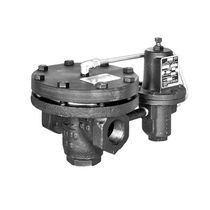 Piston actuator valve / pneumatically-operated / pressure-reducing / for steam