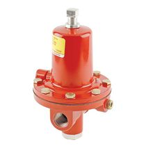 Gas pressure regulator / single-stage / membrane / high-pressure
