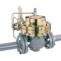 Natural gas pressure regulator / single-stage / piston / high-pressure