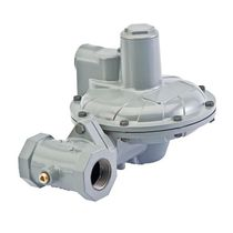 Gas pressure regulator / single-stage / membrane / direct-operated