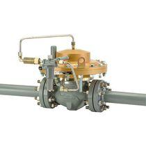 Natural gas pressure regulator and reducer / single-stage / membrane / low-pressure