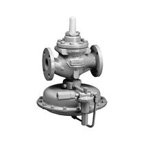 Pressure reducing valve / for fuel / for natural gas