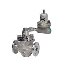 Water pressure regulator / for oil / multi-stage / membrane