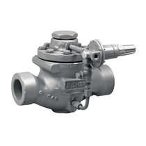 Diaphragm relief valve / pilot-operated