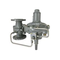 Gas pressure regulator / single-stage / membrane
