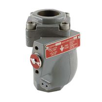Poppet check valve / threaded / for gas / stainless steel