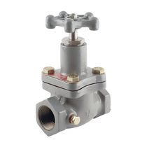 Globe valve / hand / control / for gas