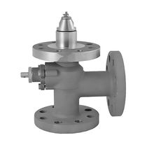 Poppet safety valve / for tanks