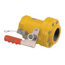 Poppet valve / lever / shut-off / for gas