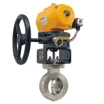 Manual valve actuator / rotary / butterfly