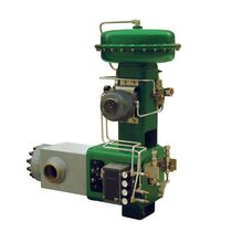 Ball valve / pneumatically-operated / control / for nuclear applications