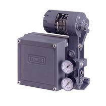 Electro-pneumatic valve positioner / rotary