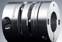 Flexible coupling / torsionally rigid / shaft / for servo motors