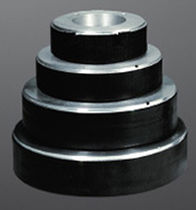 Vibration damper / for pumps / rubber