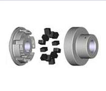 Flexible coupling / torsionally soft / elastomer / shaft