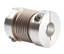 Torsionally flexible coupling / bellows / for shafts / metal