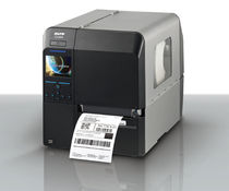 Thermal transfer printer / label / monochrome / desktop