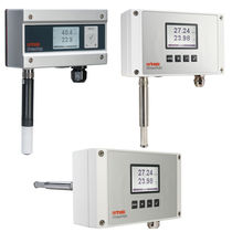 Relative humidity transmitter / wall-mount / duct-mount / air