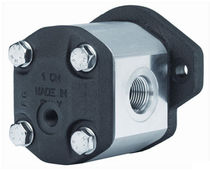 External-gear hydraulic motor