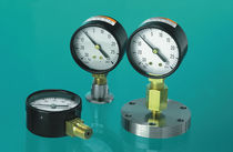 Dial pressure gauge / Bourdon tube / for vacuum
