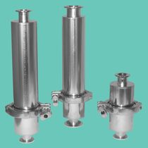 Gas filter / basket / hermetic / for vacuum pumps