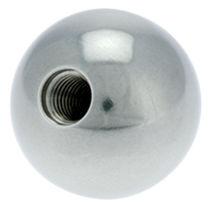 Threaded knob / ball / stainless steel