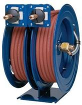 Hose reel / self-retracting / double / fixed