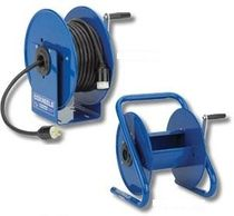 Cable reel / for hose / hand crank / transportable