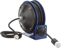 Cable reel / self-retracting / fixed / corrosion-resistant
