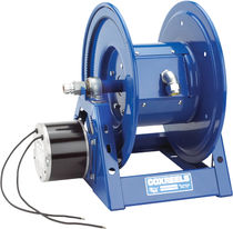 Cable reel / motorized / hand crank / open