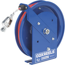 Cable reel / grounding / self-retracting / fixed